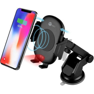 SIIG Auto-Clamping Wireless Car Charger Mount-Stand