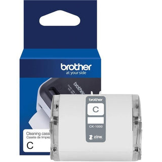 "Brother Genuine CK-1000 ~ 2 (1.97"") 50 mm wide x 6.5 ft. (2 m) Cleaning Roll for Brother VC-500W Label and Photo Printers"