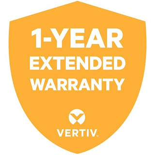 Vertiv 1 Year Extended Warranty for Vertiv Liebert GXT4 72V External Battery Cabinet Includes Parts and Labor
