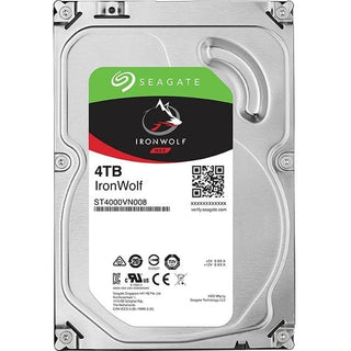 "Seagate IronWolf ST4000VN008 4 TB Hard Drive - 3.5"" Internal - SATA (SATA-600)"
