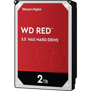 "WD Red WD20EFAX 2 TB Hard Drive - 3.5"" Internal - SATA (SATA-600)"