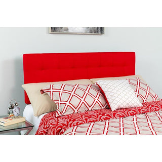 Twin Headboard-White Fabric
