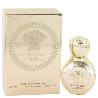 Versace Eros by Versace Eau De Parfum Spray 1 oz for Women