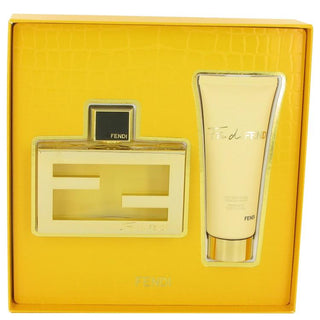 Fan Di Fendi by Fendi Gift Set -- 2.5 oz Eau De Parfum Spray + 2.5 oz Body Lotion for Women
