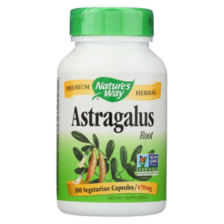 Nature's Way - Astragalus Root - 470 Mg - 100 Capsules