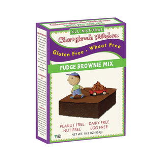 Cherrybrook Kitchen - Brownie Mix - Wheat & Gluten Free - Case Of 6 - 14 Oz