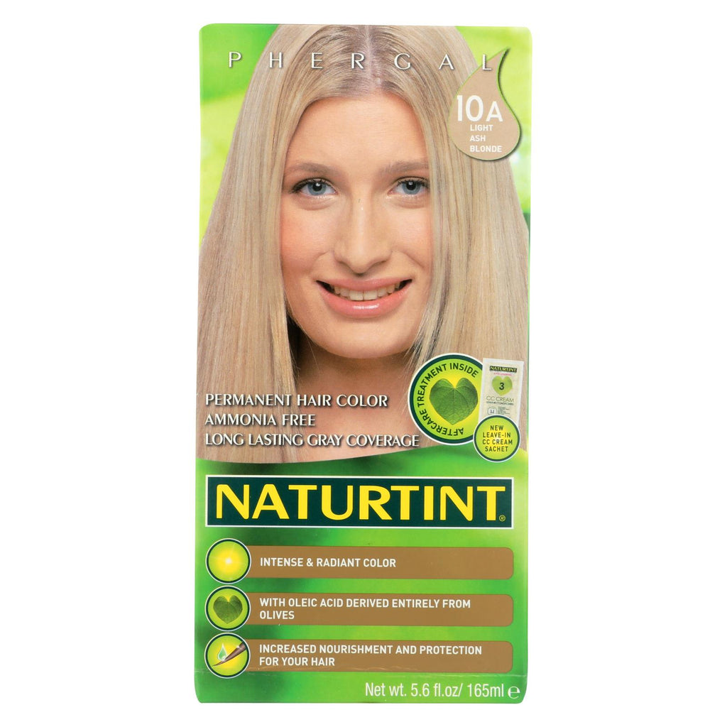 Naturtint Hair Color - Permanent - 10a - Light Ash Blonde - 5.28 Oz