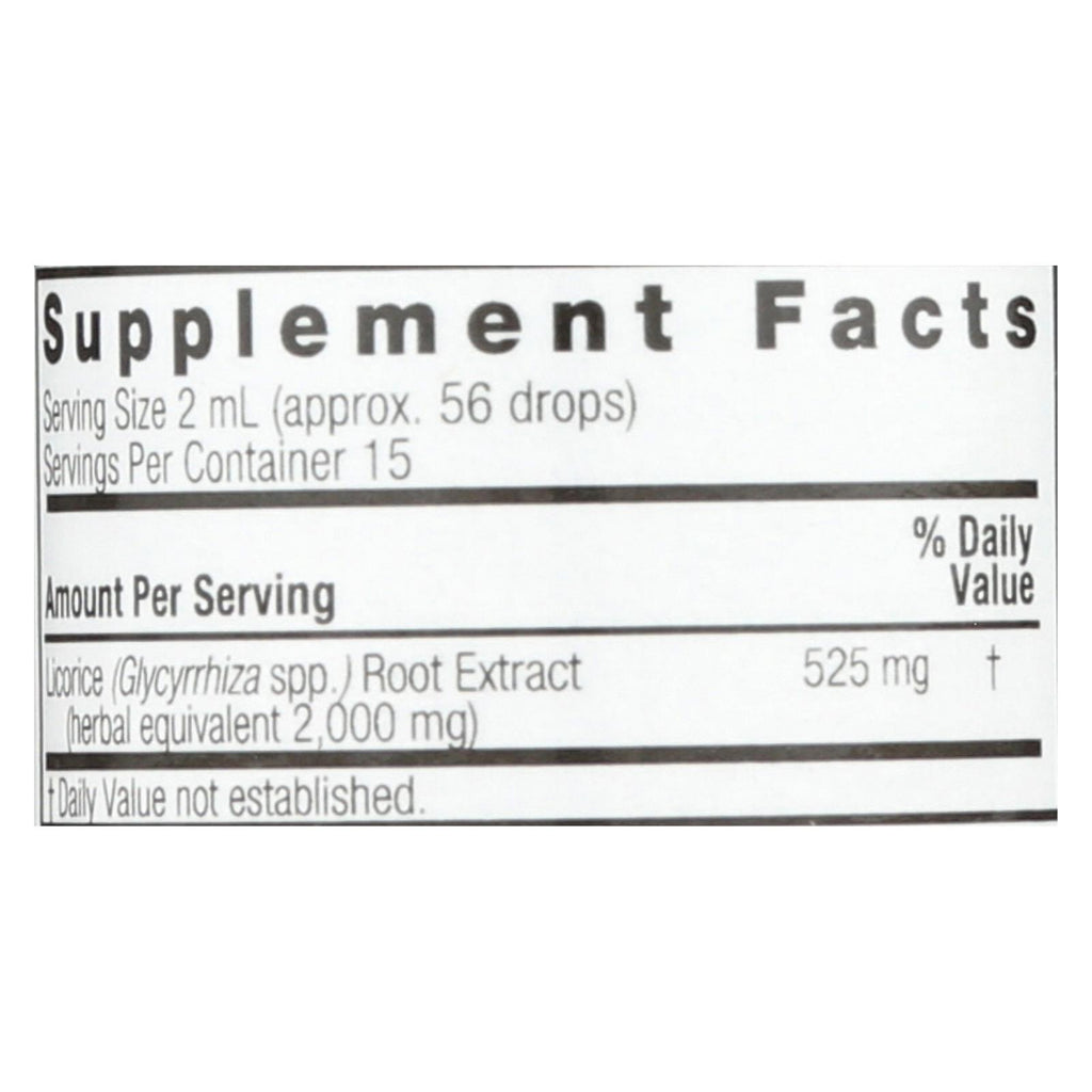Nature's Answer - Licorice Root - 1 Fl Oz