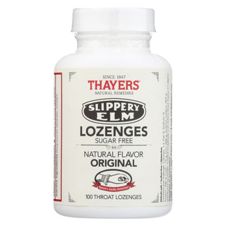 Thayers Natural Remedies Sugar-free Slippery Elm Lozenges  - 1 Each - 100 Ct