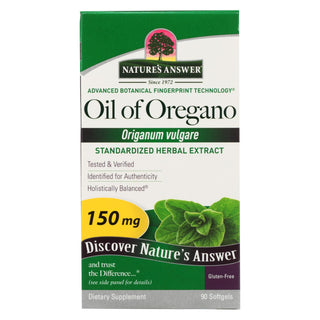 Nature's Answer - Oil Of Oregano - 90 Softgels