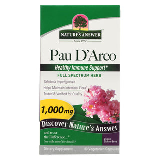 Nature's Answer - Pau D'arco Inner Bark - 90 Capsules