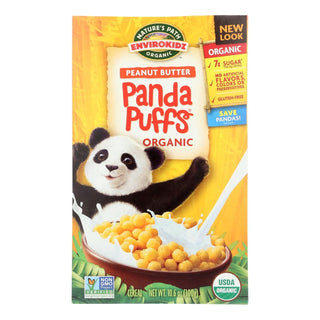 Envirokidz - Organic Panda Puffs - Peanut Butter - Case Of 12 - 10.6 Oz.