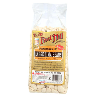 Bob's Red Mill - Large Lima Beans - 28 Oz - Case Of 4