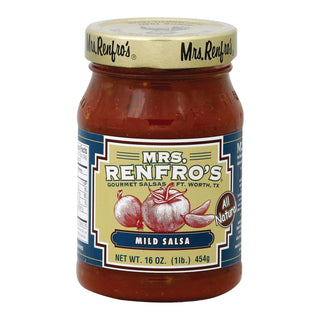 Mrs Renfro's Salsa - Mild - Case Of 6 - 16 Oz.