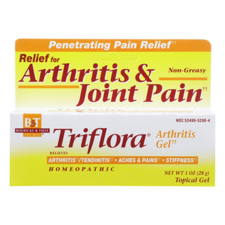 Boericke And Tafel - Triflora Arthritis Gel - 1 Oz