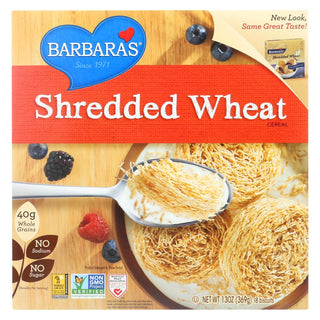 Barbara's Bakery - Shredded Wheat - Case Of 12 - 13 Oz.