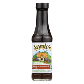 Annie's Naturals Organic Vegan Worcestershire Sauce - Case Of 12 - 6.25 Fl Oz.