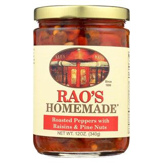 Rao's Specialty Food Roasted Peppers - Case Of 12 - 12 Oz.