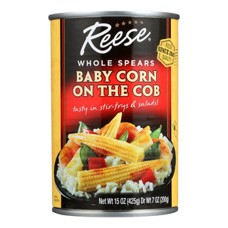 Reese - Baby Corn On The Cob - Case Of 12 - 15 Oz