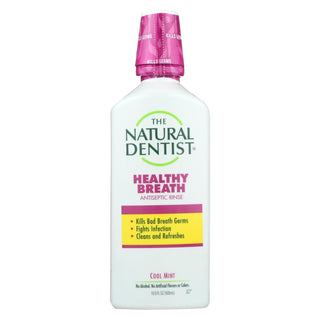 Natural Dentist Antiseptic Rinse Cool Mint - 16.9 Fl Oz