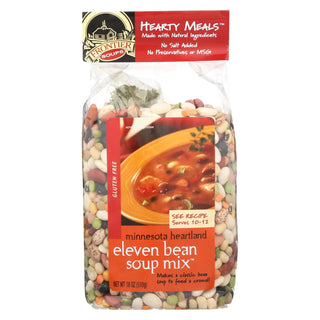 Frontier Soup Soup - 11 Bean Hearty Meal - Case Of 8 - 18 Oz