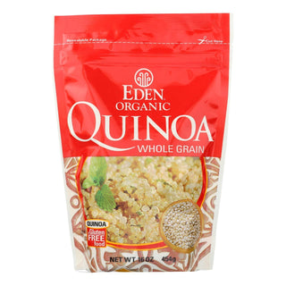 Eden Foods 100% Organic Imported Andean Quinoa - Case Of 12 - 16 Oz
