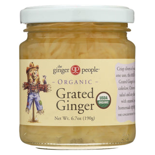 The Ginger People Organic Ginger - Grated - Case Of 12 - 6.7 Oz.