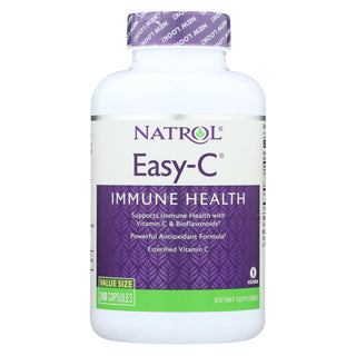 Natrol Easy-c With Bioflavonoids - 500 Mg - 240 Vegetarian Capsules