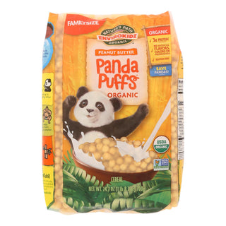 Envirokidz - Panda Puffs Cereal - Peanut Butter - Case Of 6 - 24.7 Oz.