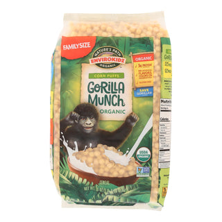 Envirokidz - Corn Puff - Gorilla Munch - Case Of 6 - 23 Oz.