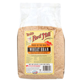 Bob's Red Mill - Wheat Bran - 20 Oz - Case Of 4
