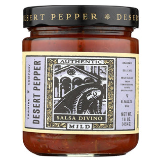 Desert Pepper Trading - Mild Divino Salsa - Case Of 6 - 16 Oz.