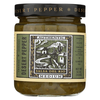 Desert Pepper Trading - Medium Del Rio Salsa - Case Of 6 - 16 Oz.