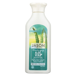 Jason Pure Natural Shampoo Aloe Vera For Dry Hair - 16 Fl Oz