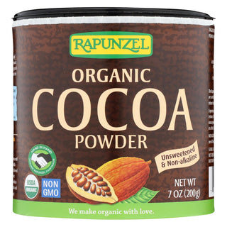 Rapunzel Organic Cocoa Powder - Case Of 6 - 7.1 Oz.