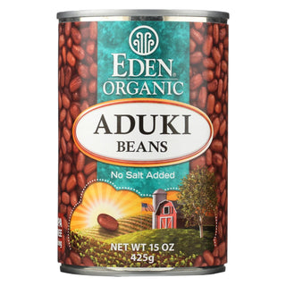 Eden Foods Organic Aduki Beans - Case Of 12 - 15 Oz.