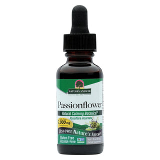 Nature's Answer - Passionflower Herb Alcohol Free - 1 Fl Oz
