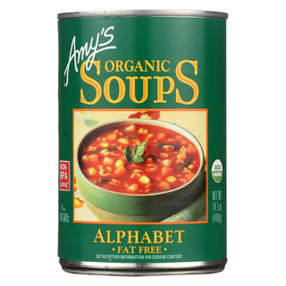 Amy's - Organic Alphabet Soup - Case Of 12 - 14.1 Oz