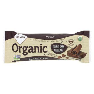 Nugo Nutrition Bar - Organic Double Dark Chocolate - 1.76 Oz - Case Of 12