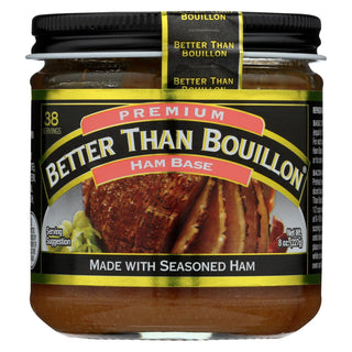 Better Than Bouillon Bouillon - Ham Base - Case Of 6 - 8 Oz