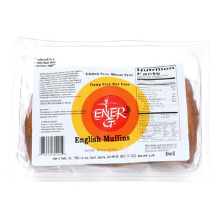 Ener-g Foods - English Muffins - 14.8 Oz - Case Of 6
