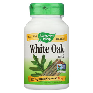 Nature's Way - White Oak Bark - 100 Capsules