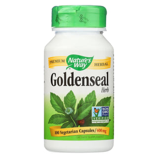 Nature's Way - Goldenseal Herb - 100 Capsules