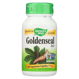 Nature's Way - Goldenseal Root - 100 Capsules
