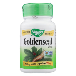Nature's Way - Goldenseal Root - 50 Capsules