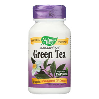 Nature's Way - Green Tea Standardized - 60 Vcaps