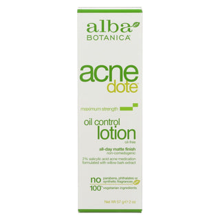 Alba Botanica - Natural Acnedote Oil Control Lotion - 2 Fl Oz