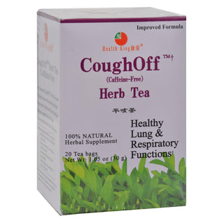 Health King Cough-off Herb Tea - 20 Tea Bags