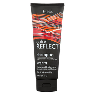 Shikai Color Reflect Warm Shampoo - 8 Fl Oz
