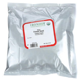 Frontier Herb Fennel Seed - Organic - Whole - Bulk - 1 Lb